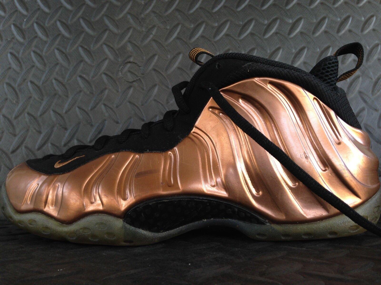Nike Foamposite Copper 11.5 Size 18b04wbtr9117 shoes