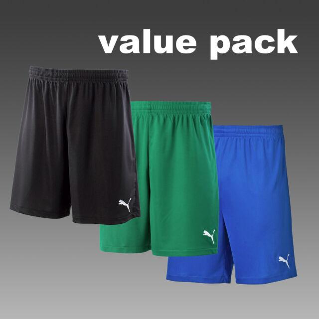 NEW PUMA Velize YS Youth S Boys Kids Soccer Football Shorts Blue White Training
