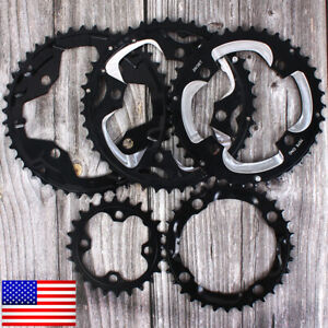 24-26-32-38-42T-Double-Triple-Speed-Chainring-MTB-Bike-104-64BCD-AL7075-Crankset