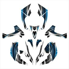 Can am RENEGADE 800 1000 R X graphics sticker kit  #7777 Blue