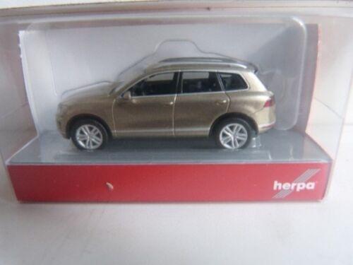 1//87 Herpa VW Touareg sand gold metallic 038478