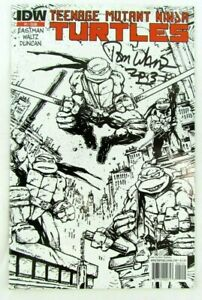 Teenage-Mutant-Ninja-Turtles-1-2nd-Print-Variant-2011-IDW-Comic-Book-Signed