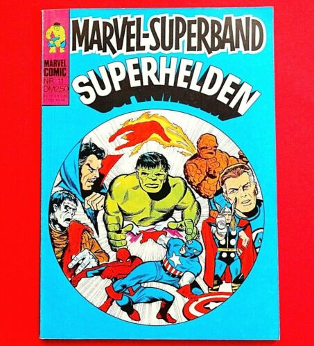 11 * Spinne FV Superband Superhelden Nr Marvel Thor...* Z 1- * gebraucht