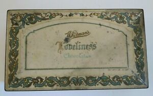 Vintage-Whitman-039-s-Loneliness-Chocolates-Tin-Hinged-Box-1950-039-s-Advertisement