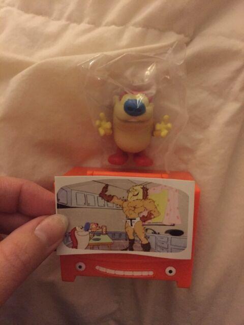 Nick 90/'s Just Play REN /& STIMPY Toy Collectors Figure Set Nickelodeon