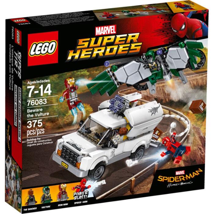 Lego 76083 Marvel Super Heroes Méfiez-vous le vautour (neuf scellé)