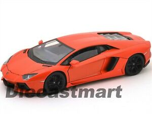 WELLY-24033-LAMBORGHINI-AVENTADOR-LP700-4-1-24-DIECAST-MODEL-CAR-ORANGE