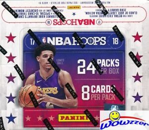 2017-18-Panini-Hoops-Basketball-MASSIVE-24-Pack-Sealed-Retail-Box-AUTOGRAPH