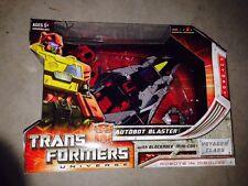 BLASTER Transformers Universe Voyager 2008 Classics Generations Blockrock G1 New