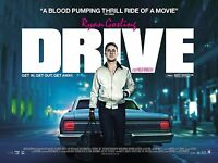 DRIVE MOVIE LARGE POSTER -RAYAN GOSLING- PHOTO PRINT WALL ART SIZE A1 /A2 /A4