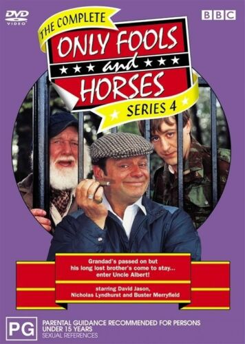 1 of 1 - Only Fools And Horses : Series 4 (DVD, 2005)