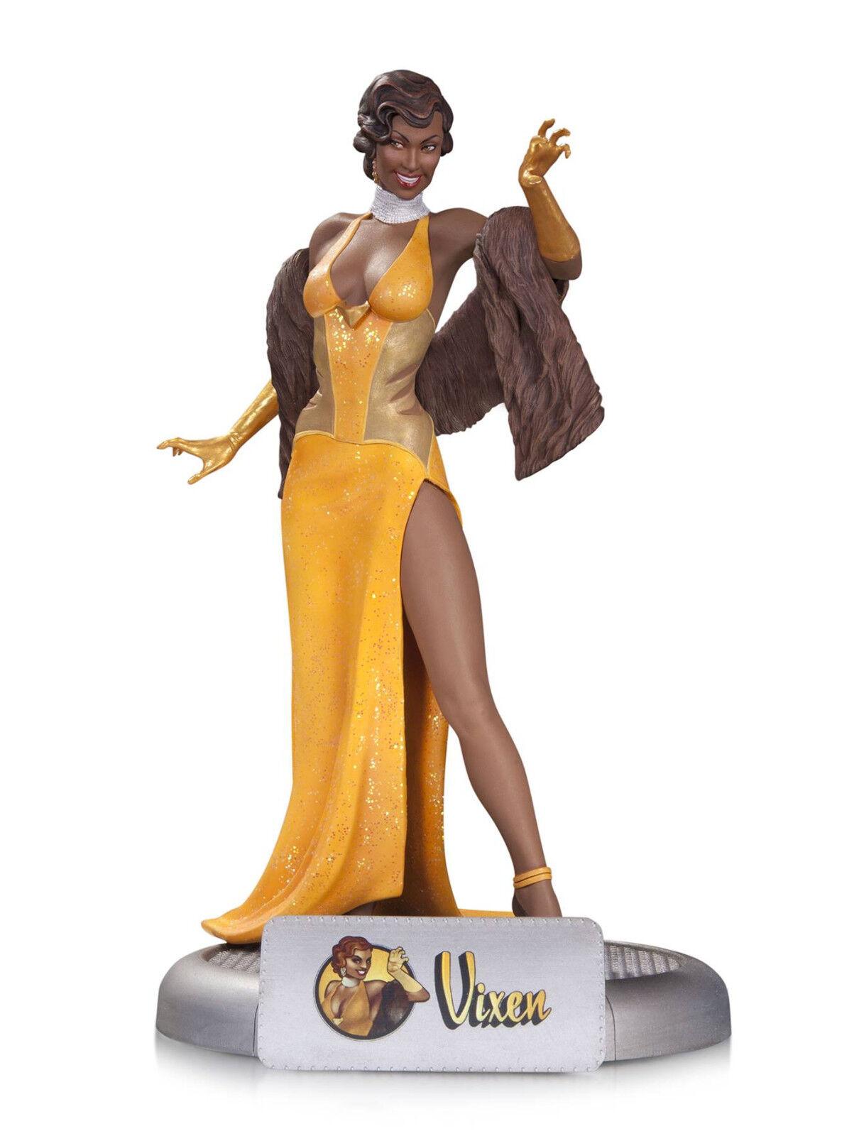 DC Bombshells Vixen Statue MINT nuovo IN scatola