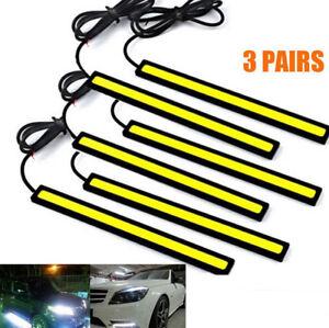 6x-Super-Bright-COB-White-Car-LED-Lights-for-DRL-Fog-Driving-Lamp-Waterproof-12V