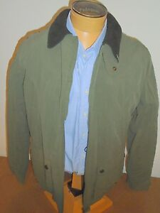 John-Partridge-Field-Jacket-with-Fleece-Lining-NWT-Large-445-Olive-Green