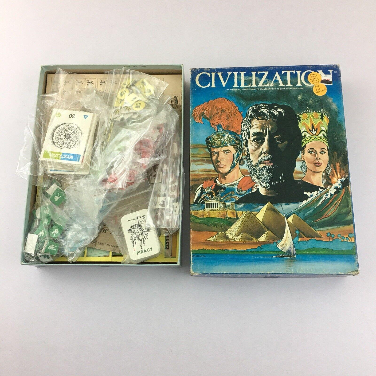 Avalon Hill  Civilization Civilization (Leaders Portrait Cover) completare  sport dello shopping online