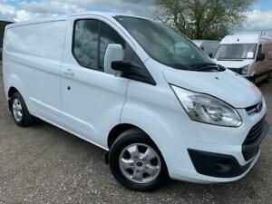 FORD TRANSIT CUSTOM LIMITED L1H1  EURO 6 ULEZ COMPLIANT VAN WITH AIR CON
