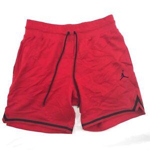 9dc028e11915 Nike Air Jordan Wings Lite Fleece Shorts Red Black AJ0438-687 Men s ...