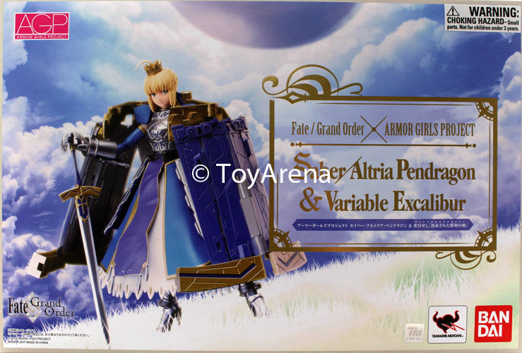 Armor Girls Project Fate Grand Order Saber Altria Pendragon & Variable Excalibur