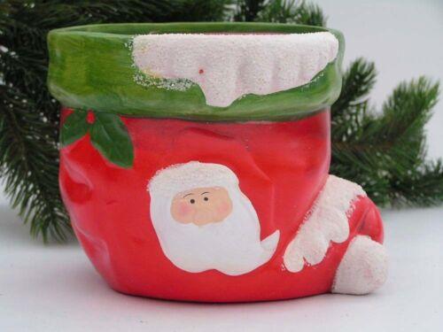 Trendy pot de plantation de Noël Bonnet 18x14x13 cm prix spécial revendeur poste 4226