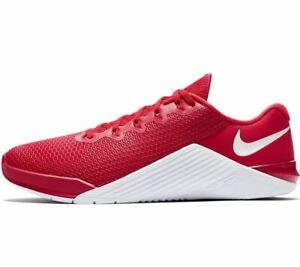 Nike Metcon 5 Rot Weiss Gr44,5 US10.5 UK9.5 CrossFit Training Fitness AQ1189 690
