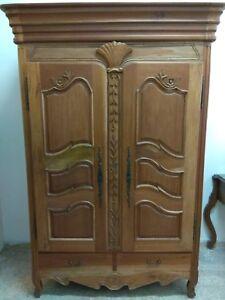 armadio in legno massello di mogano