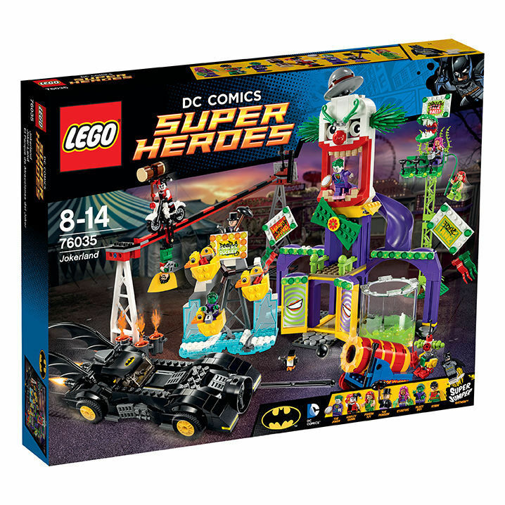 LEGO 76035 DC Universe Super Heroes Joker-Land - NEU