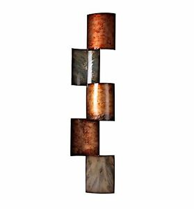 image is loading metal wall art decor copper sculpture office living - Metal Wall Art Decor And Sculptures