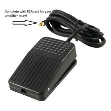 Ham Radio Amplifier Relay foot switch Heavy Duty. economical.