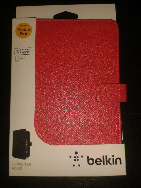 Belkin Red Protective Tablet Sleeve Case IPad Mini Kindle Fire Galaxy Tab