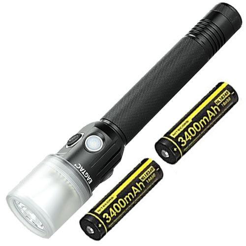 Eagletac GX30L2D XP-L HI V3 LED NW Flashlight w 2x Nitecore NL1834R Batteries