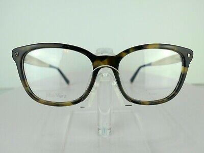 Max Mara Max Mara 1278 0USG Blue Havana Gold Eyeglasses