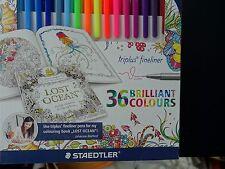 Staedtler 36 Triplus Fineliner Porous Point Pens Markers