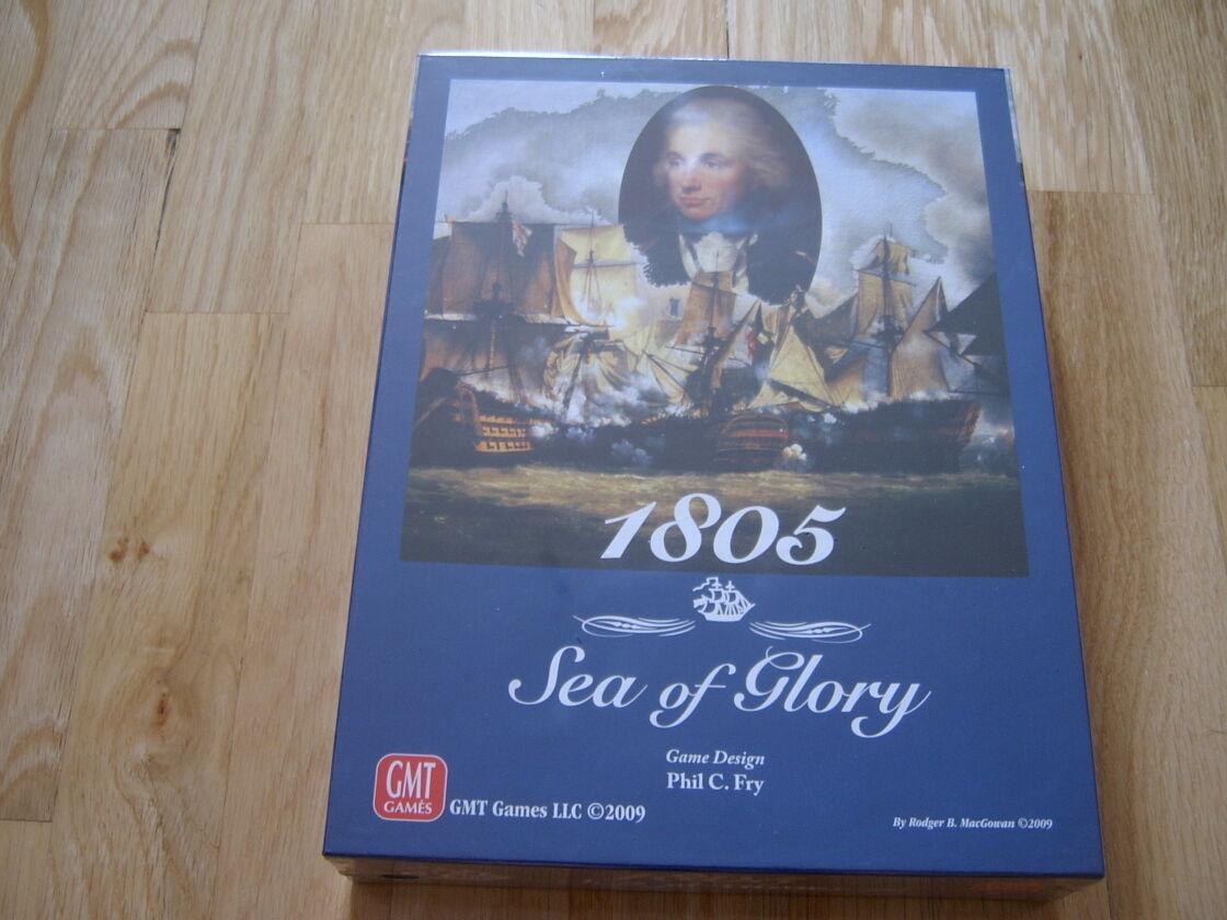 Jeu Wargame 1805   Sea Of Glory - Gmt 0903 - Napoléonien -