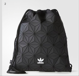 Image is loading Adidas-Issey-Miyake-Drawstring-Gym-Bag-3D-Mesh- bf07a52d4a068