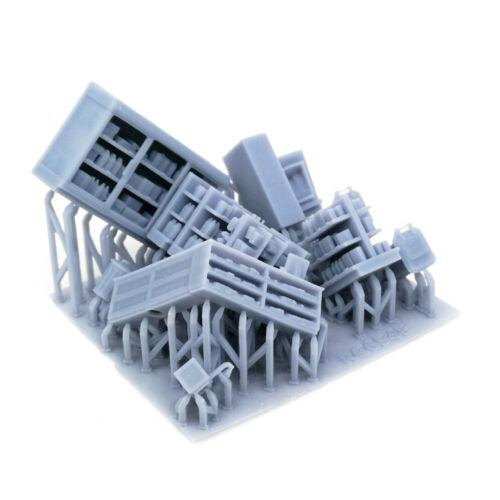 Outland models Model Railway Market//Business Interior Accessories Set Track HO