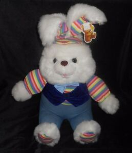 B B Toymaker Light Up Singing Bunny Rabbit Ears Move Stuffed