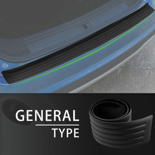 104cm Rubber Sill Plate Rear Bumper Guard Protector Cover Car SUV Trunk Trim