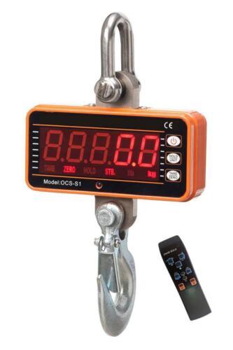 Bilancia elettronica portatile 1000 kg batterie  digitale con telecomando
