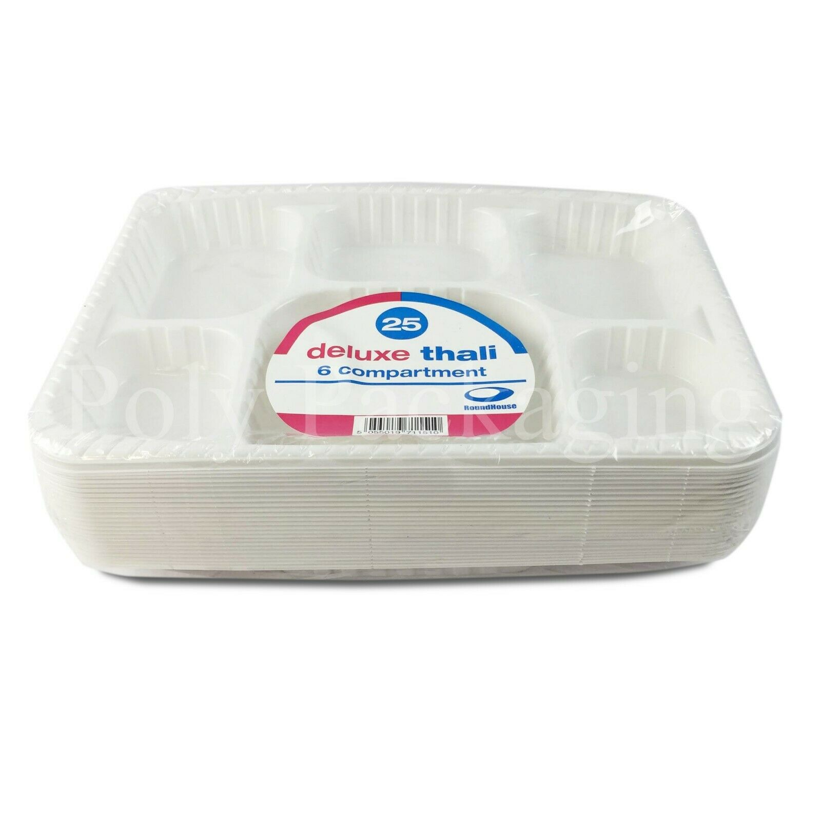 400 x Heavy Duty '6 Compartment' Plates(305x229mm) (9x12 )Party Office Catering