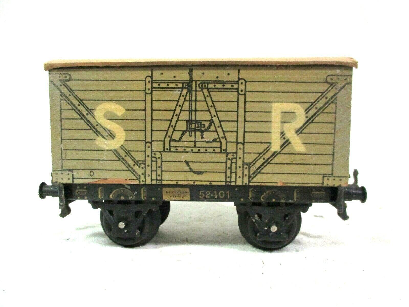 Bing SR Southern Railway 52401 Covered Wagon Model Railway Train B66-38
