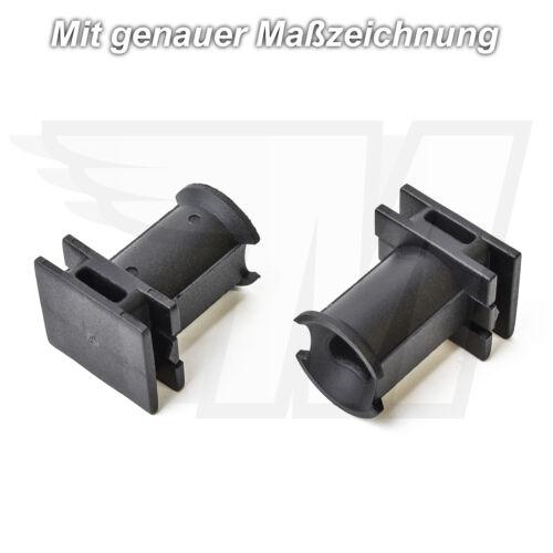 4x Zierleiste Radhaus Befestigungs Clips Halterung für VW Audi6Q0853147