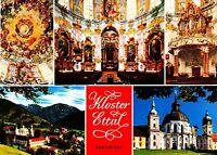Kloster Ettal , Ansichtskarte , ungelaufen