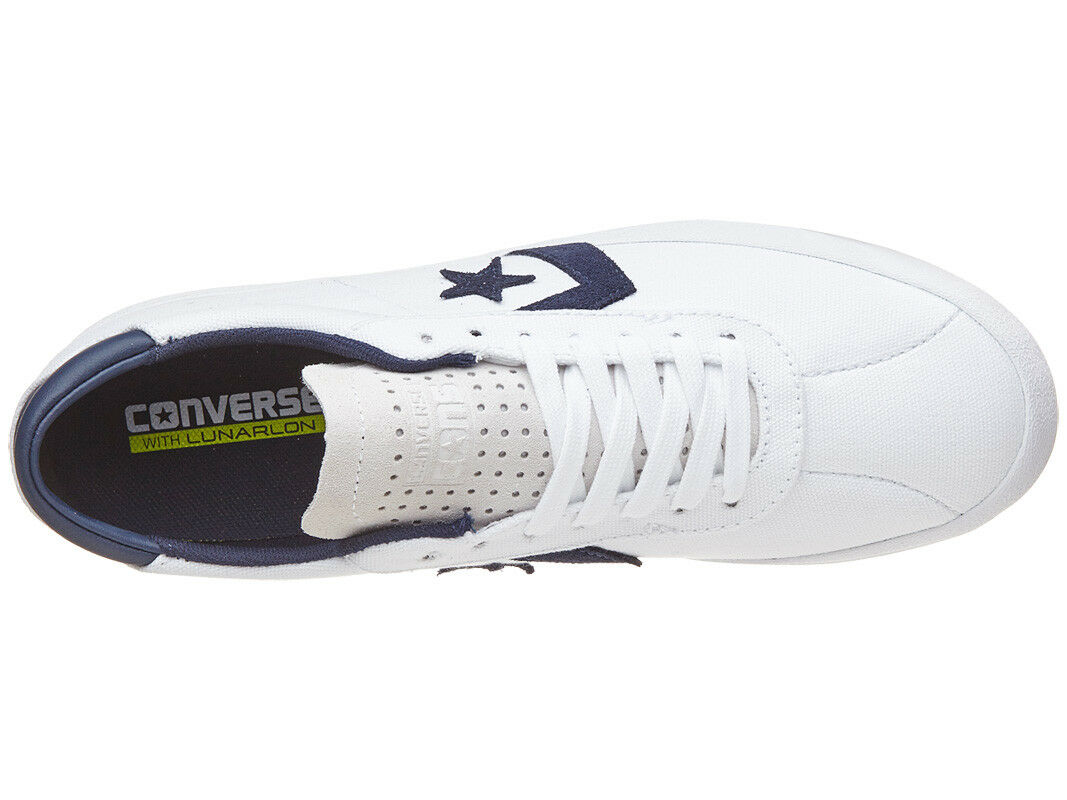 Hombre Converse Breakpoint Pro Pro Breakpoint Blanco Canvas Zapatos. Talla 9 - 12. NIB,  109.99. da27b8