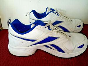 Mens Reebok Shoes Size 11 NFL White