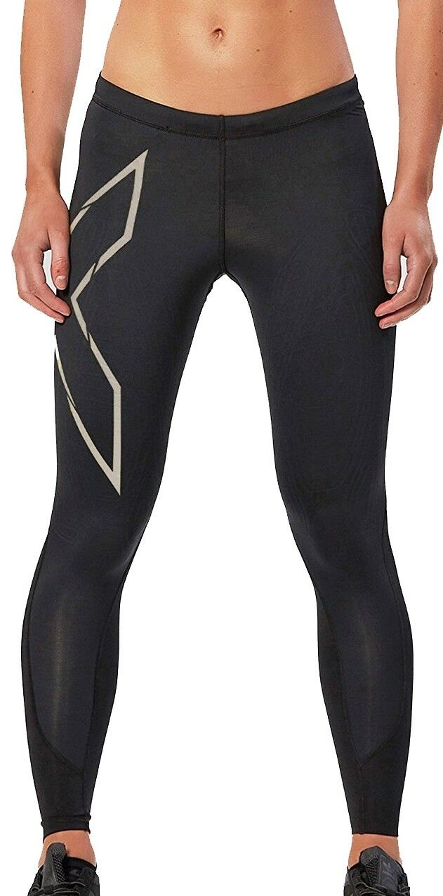 2xu elite MCs mujer Long compression tights-negro