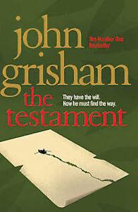 John-Grisham-The-Testament-Tout-Neuf-Livraison-Gratuite-Ru