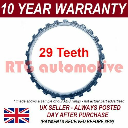 Mk3 1.3 CDTI ABS reluctor Anneau Front Fits Vauxhall Corsa