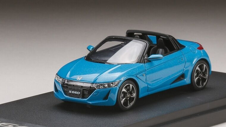 MARK43 PM4331BL 1 43 HONDA S660 alpha premium beach blu Pearl