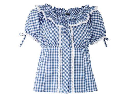 Damen Trachtenbluse Bluse Tracht Dirndl Trachtenmode Damenbluse