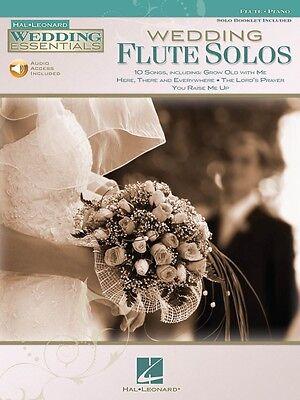 Wedding Flute Solos Wedding Essentials Series Instrumental Folio Book 000842457 Numerous In Variety Instruction Books, Cds & Video Wind & Woodwinds